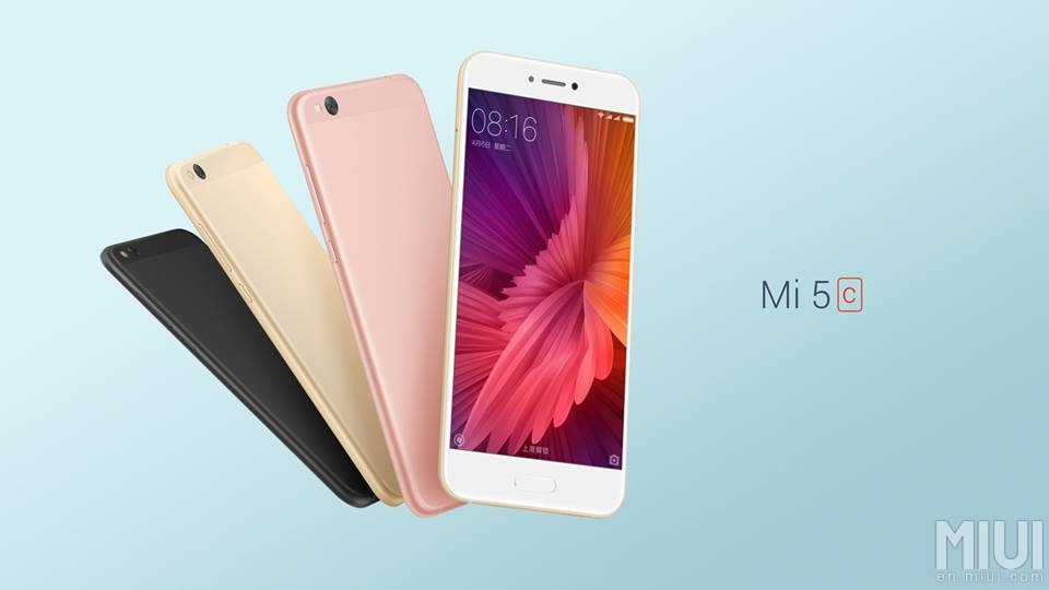 Xiaomi představilo vlastní procesor a smartphony Mi 5c a Redmi 4X