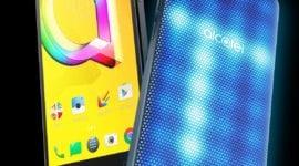 Alcatel A5 LED - telefon s interaktivním zadním krytem