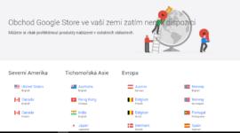 """Google Store se pootevřel – lze nakoupit, ale bez """"překážek"""" to není"""