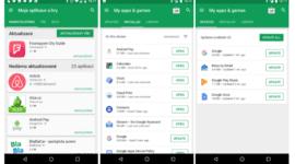 Obchod Play - testování nové podoby instalovaných aplikací