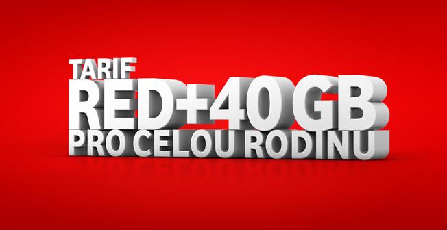Novinka Vodafone RED+ se 42 GB dat