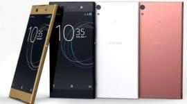 Sony uvedlo čtyři nové telefony - Xperia XZ Premium, XZs,  XA 1 a  XA 1 Ultra