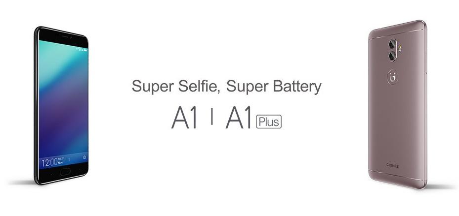 Gionee na MWC 2017 představilo dva nové telefony A1 a A1 Plus