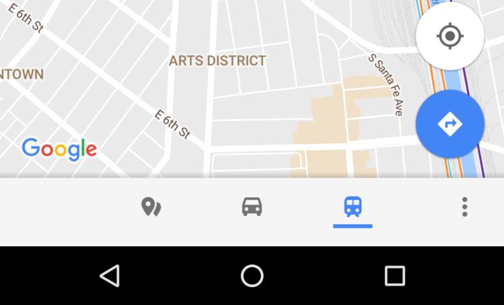 Google Mapy dostaly navigační panel zjednodušující přístup k užitečným funkcím