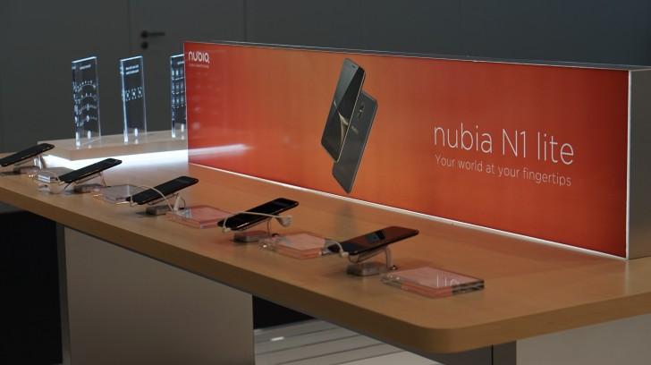 Nubia N1 Lite – nový smartphone představený na MWC