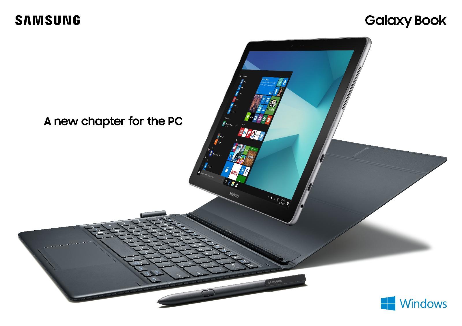 Samsung představil Galaxy Book, Galaxy Tab S3 a Gear VR s ovladačem