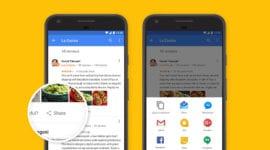 Google Mapy získávají sdílení recenzí [beta]