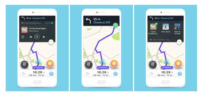 Služby Spotify a Waze našly společnou cestu
