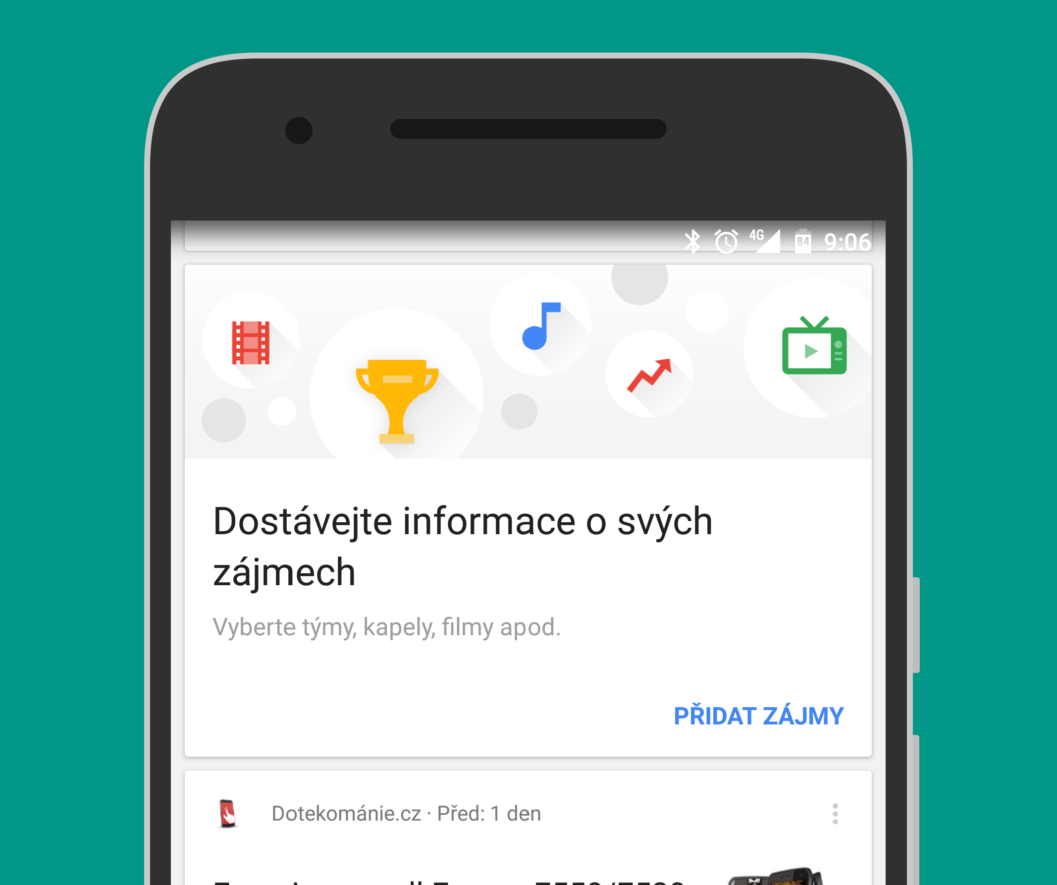 Google rozšiřuje oblasti zájmu v Kartách