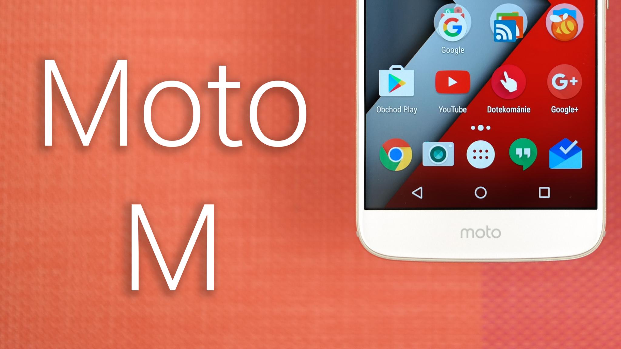 Moto M – kovově čistý Android [recenze]