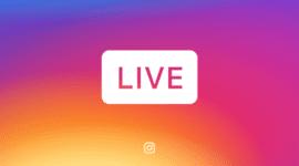 Instagram - živé přenosy jde nově uložit