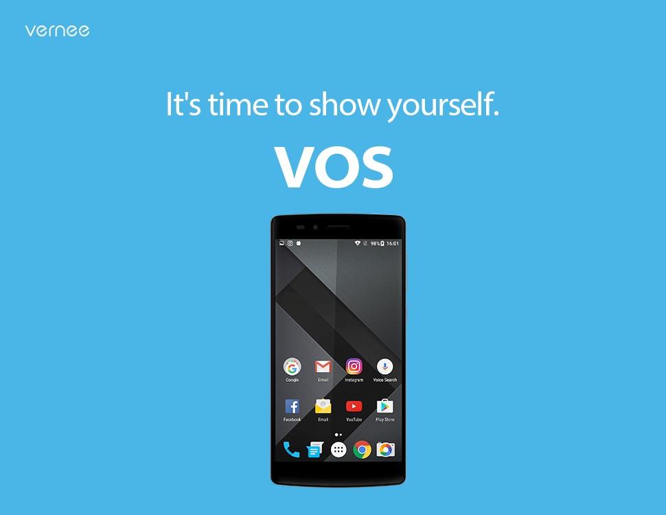 Vernee představilo nový operační systém VOS