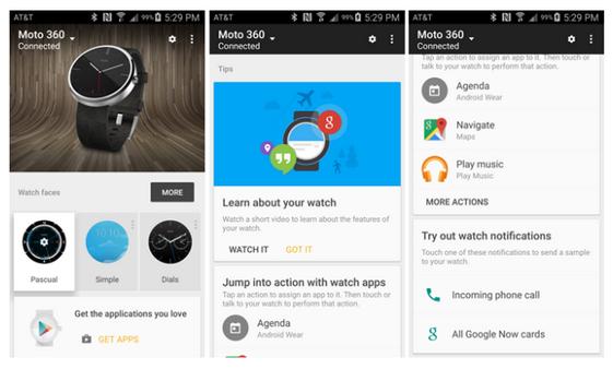 Aplikace Android Wear v1.1 – připraveno na aktualizaci systému [APK ke stažení]