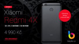 Xiaomi Redmi 4X Global: Úchvatný design a české LTE [sponzorovaný článek]