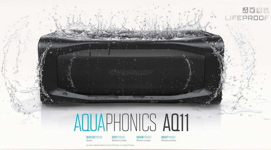 Lifeproof má nové odolné reproduktory Aquaphonics
