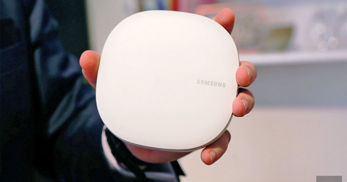Samsung uvedl chytrý router Connect Home