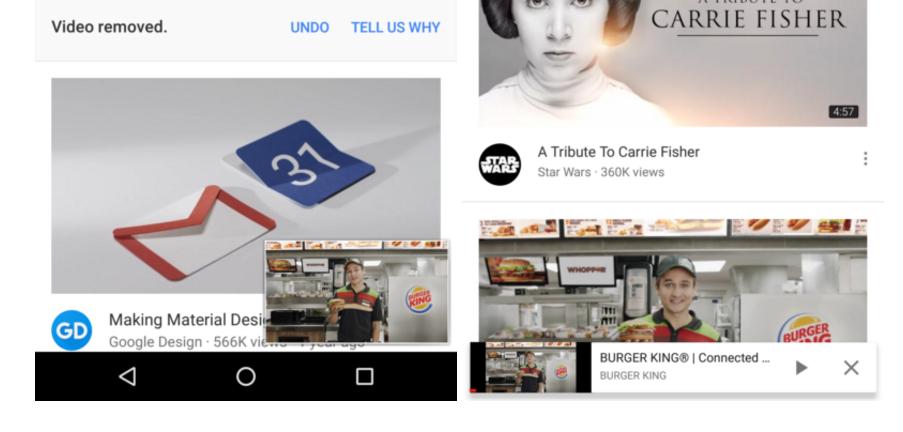 """Youtube – nový vzhled přehrávání v """"mini"""" okně"""