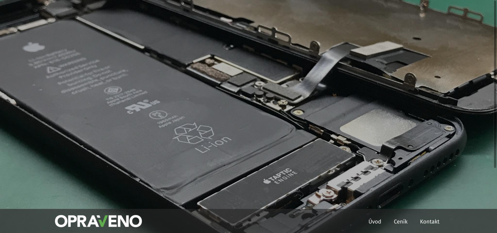 Rozbitý iPhone po záruce? Doporučujeme navštívit servis Opraveno.com [sponzorovaný článek]