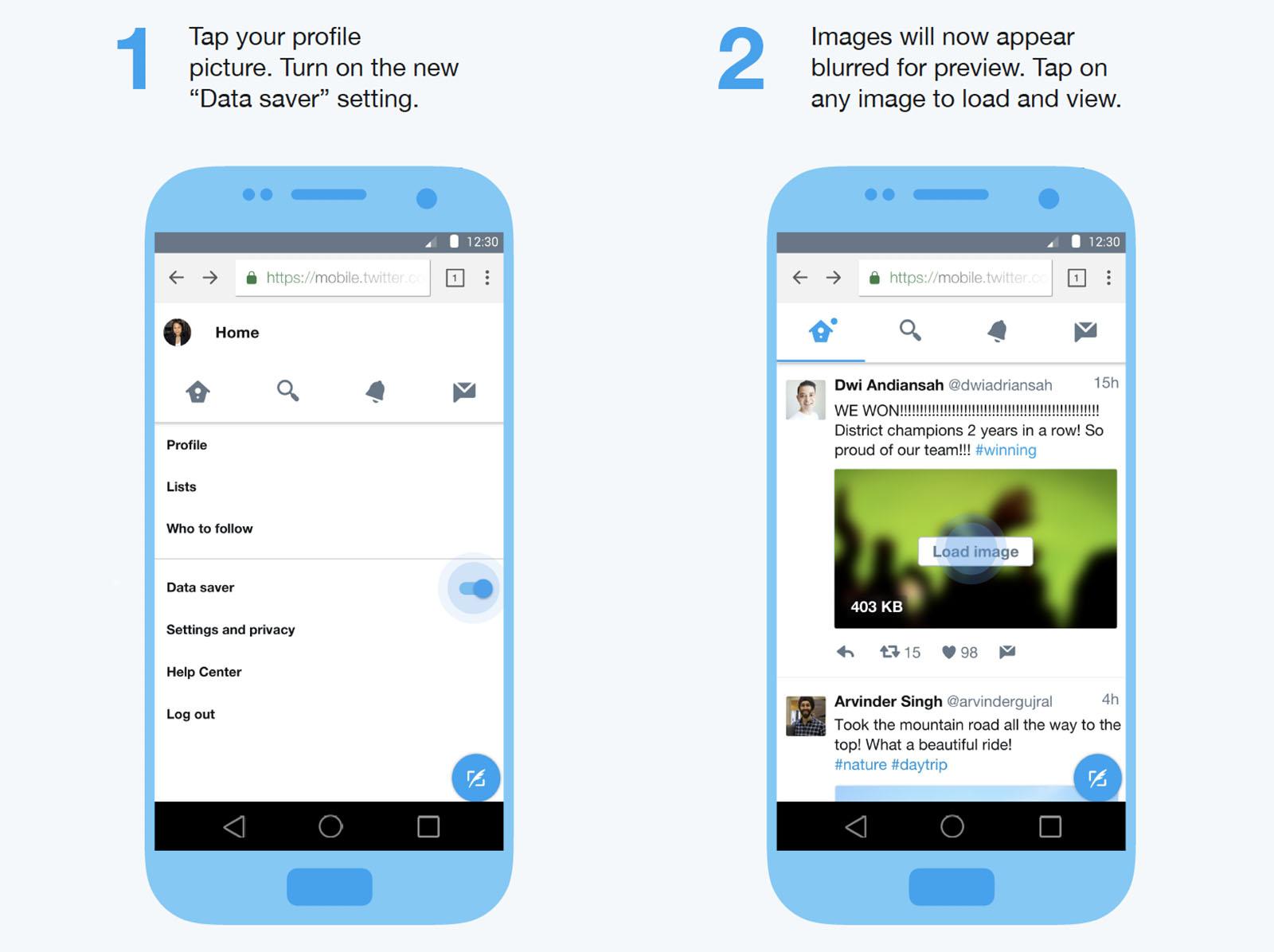 Twitter Lite – nová, úspornější verze