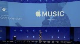 Apple Music bude nově podporovat platformu Messenger