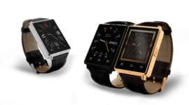Chytré hodinky NO. 1 D6 - k dokonalosti chybí koženému elegánovi pár věcí [uživatelská recenze]