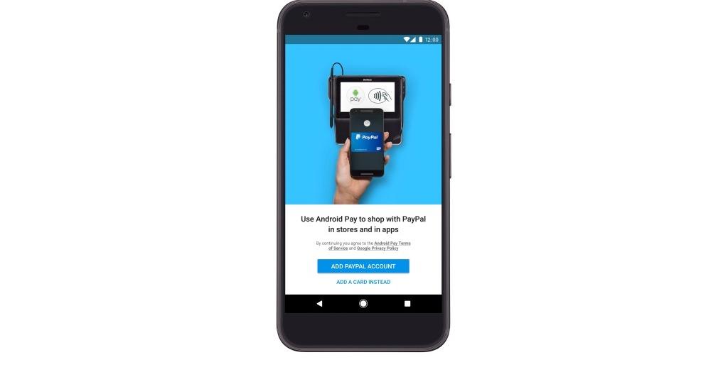 Android Pay získá podporu PayPal
