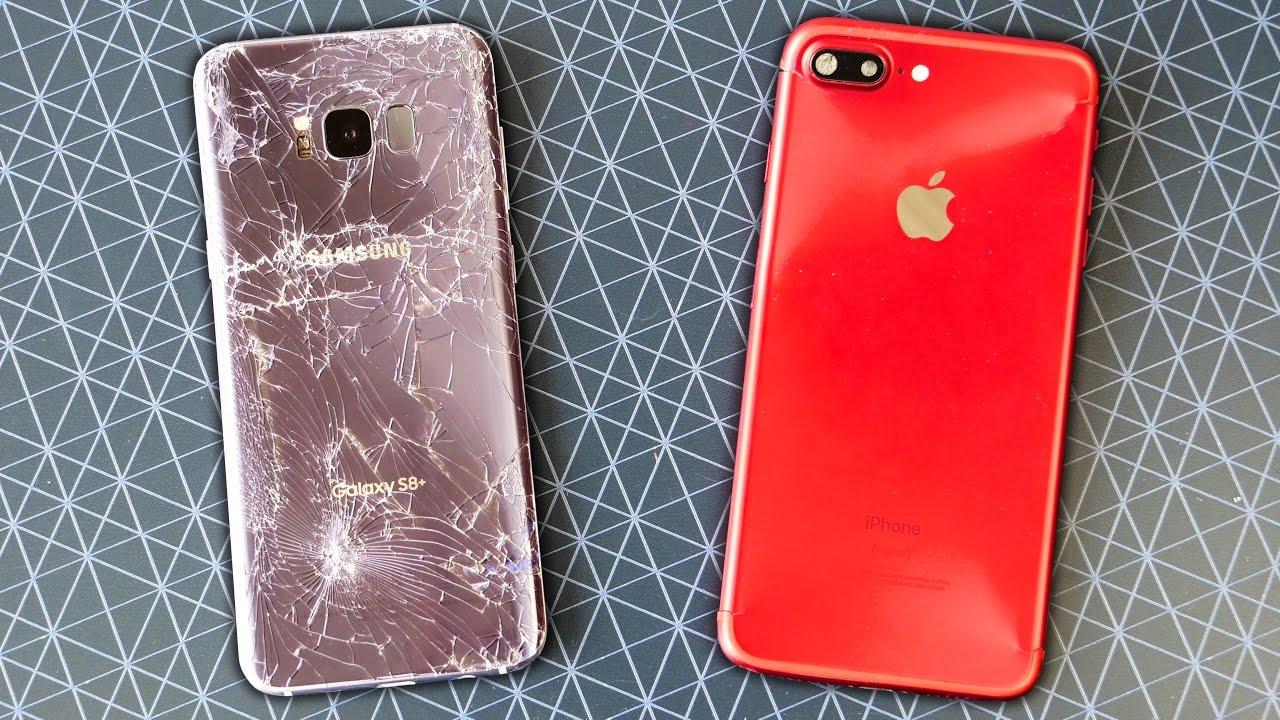 První crash testy Galaxy S8 – budete nejspíš potřebovat obal