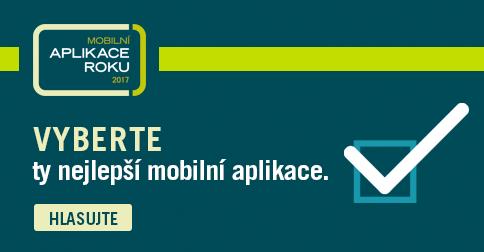 Hlasujte v anketě Mobilní aplikace roku 2017 a rozhodněte o vítězi