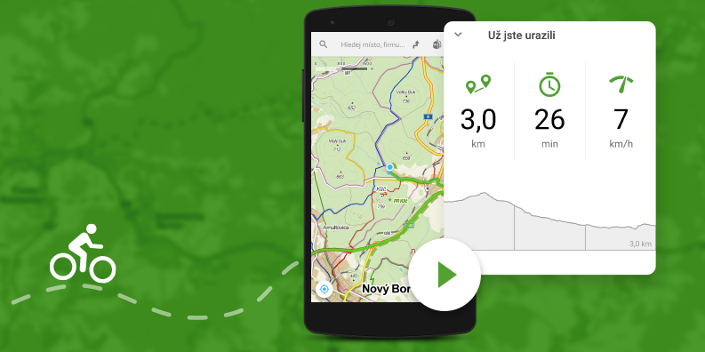 Mapy.cz přinášejí stopaře i na iOS a online mapy celého světa