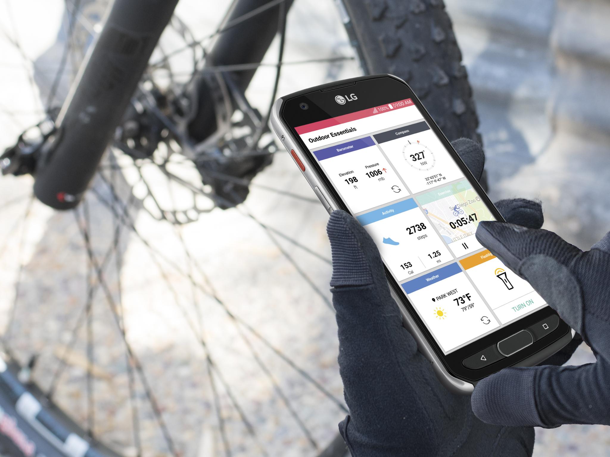LG X venture – odolnější novinka
