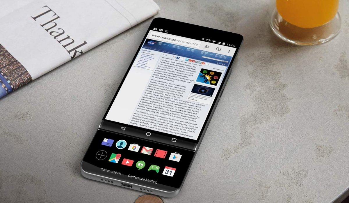 Unikly obrázky prototypu LG V30