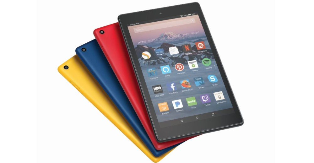 Amazon oživil řadu tabletů Fire