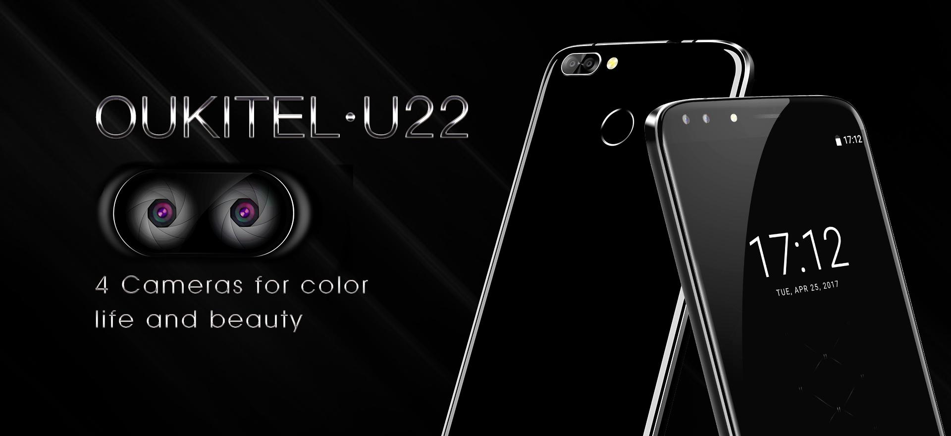 Oukitel představí smartphone se čtyřmi foťáky