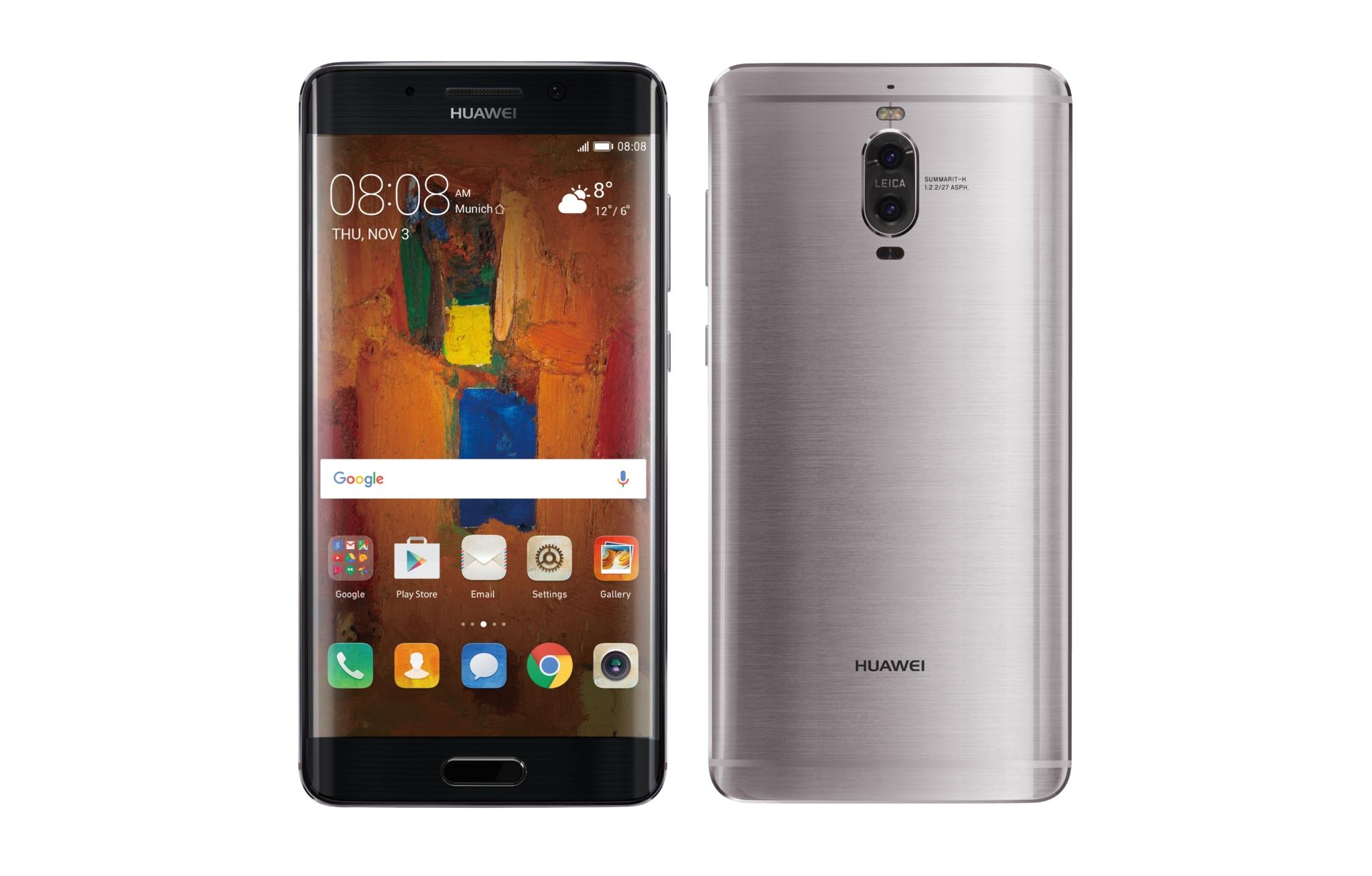 Huawei Mate 9 Pro je dostupný na českém trhu