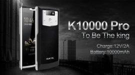 Oukitel K10000 Pro - něco mezi telefonem a power bankou