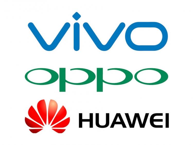 Huawei, Vivo a Oppo mohou za enormní růst čínského trhu