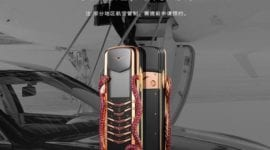 Vertu Signature Cobra Limited Edition doručují helikoptérou