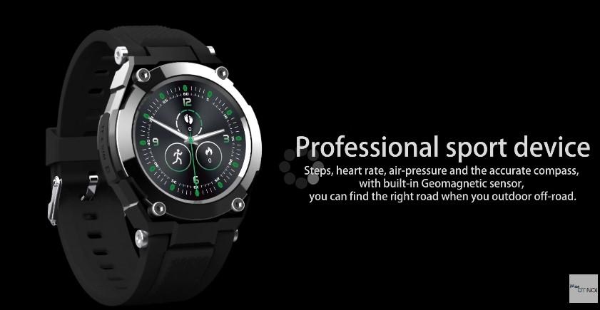 Chytré hodinky G9 přináší voděodolnost a GPS