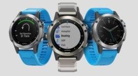 """Garmin Quantix 5: nové hodinky s """"námořní"""" konektivitou"""