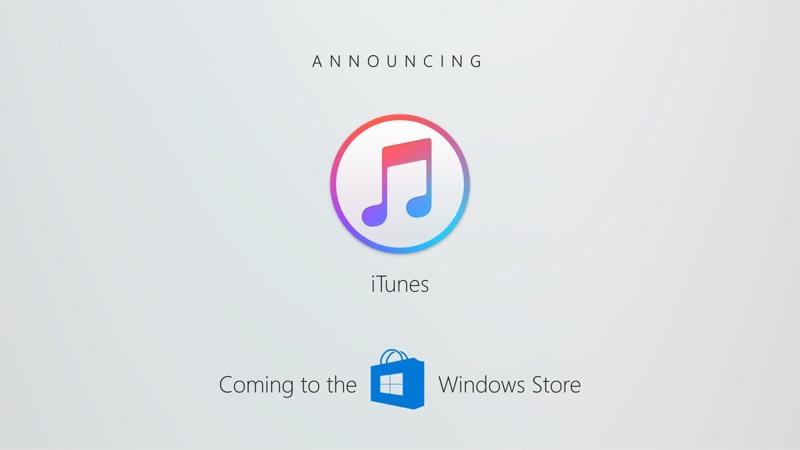 Aplikace iTunes je konečně k dispozici v Microsoft Store