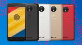 Motorola představila low-endové modely Moto C a Moto C Plus
