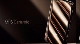 """Xiaomi Mi 6 v limitované edici """"Ceramic Edition"""" byl vyprodán za den"""
