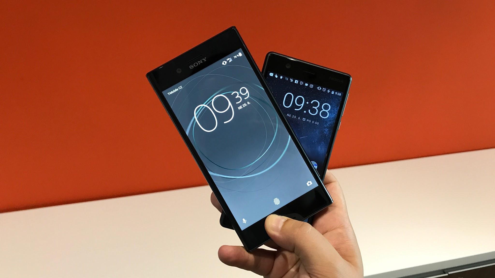 LIVE: Nokia 3 a Xperia XZ Premium [záznam]