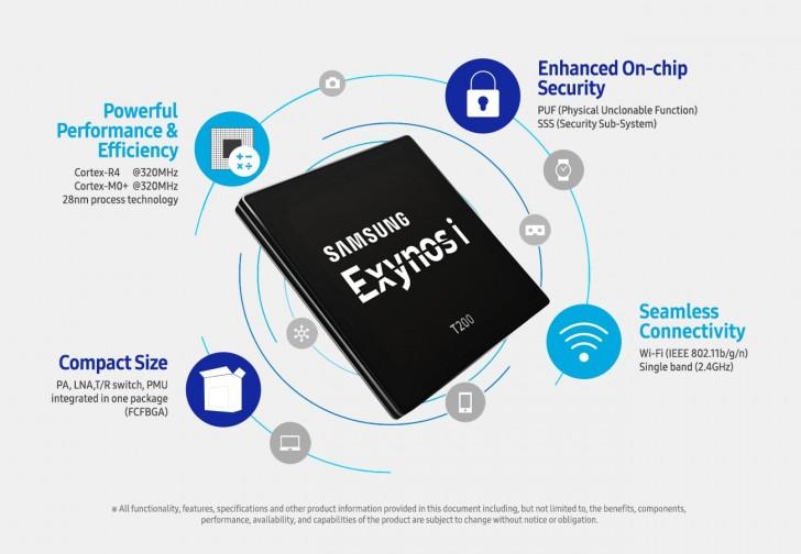 Samsung spustil výrobu čipu Exynos i T200