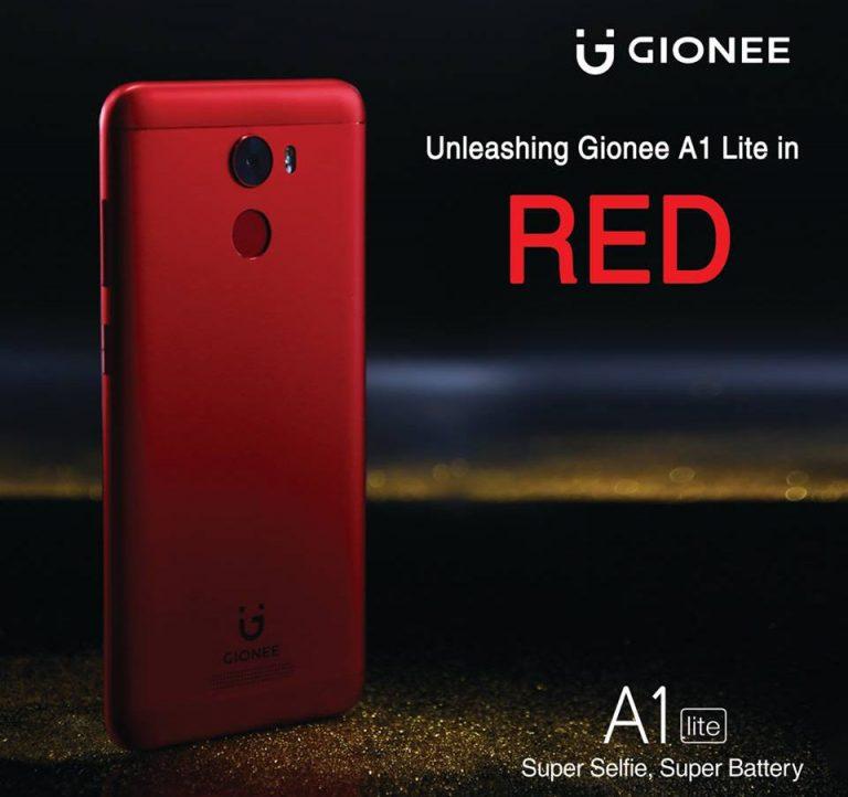 Gionee A1 Lite – novinka pro selfie maniaky