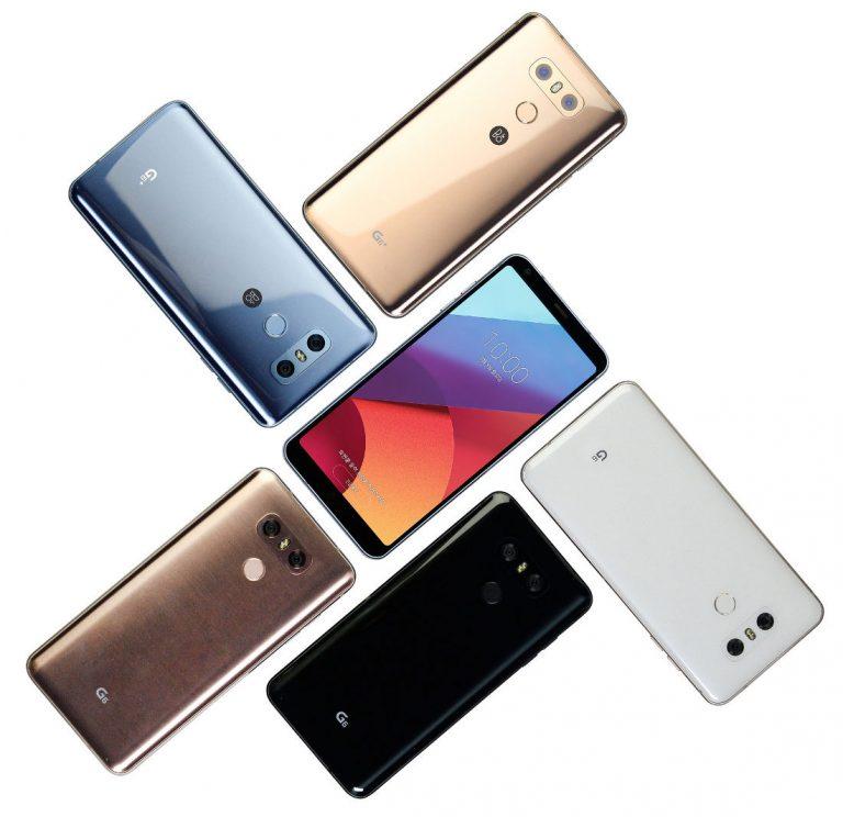 LG představilo prémiovou variantu G6+