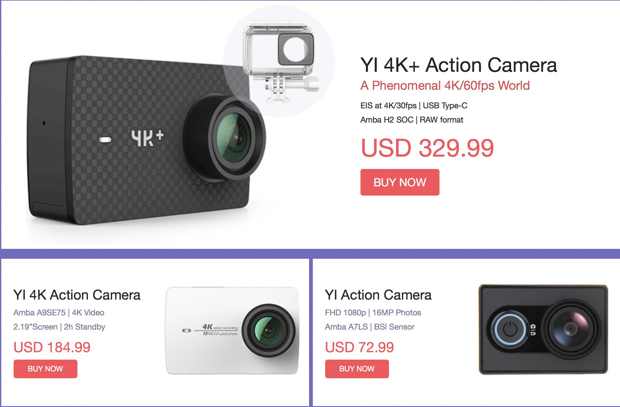 Geekbuying: Přenosné kamery nyní za sníženou cenu [sponzorovaný článek]