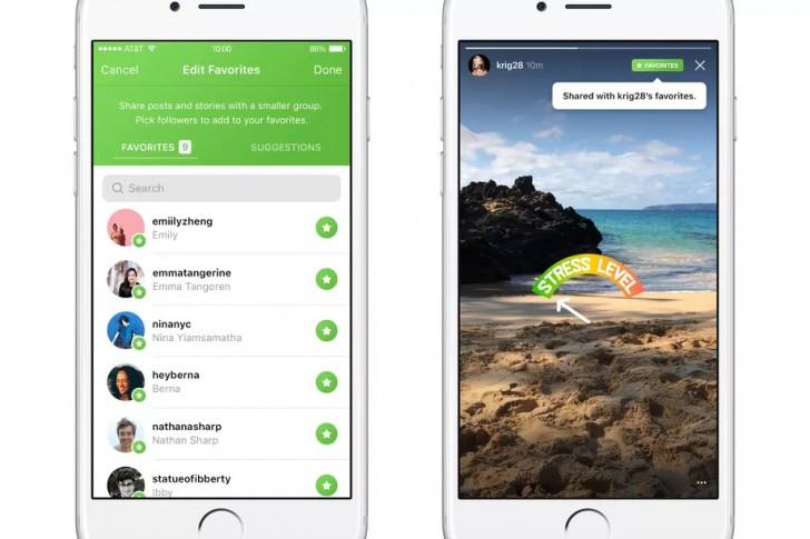 Instagram chystá novou funkci, vybraný obsah uvidí jen určití lidé