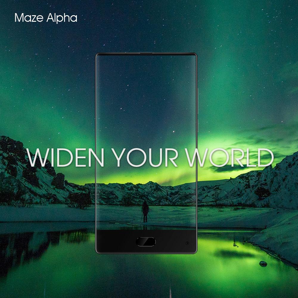 MAZE Alpha je dalším bezrámečkovým telefonem po vzoru Xiaomi Mi Mix