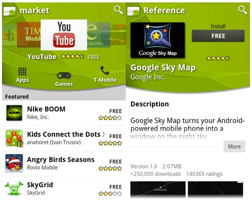 nandwrite android market